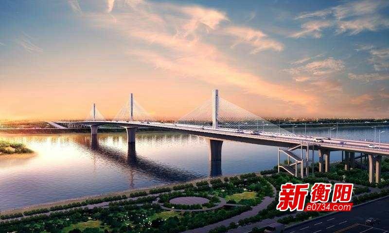 新闻下午茶丨衡阳东洲湘江大桥预计明年1月底合龙